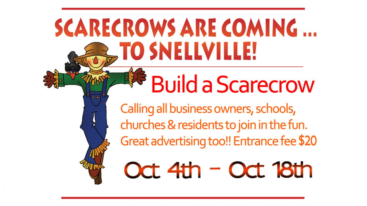 Build Your Scarecrow