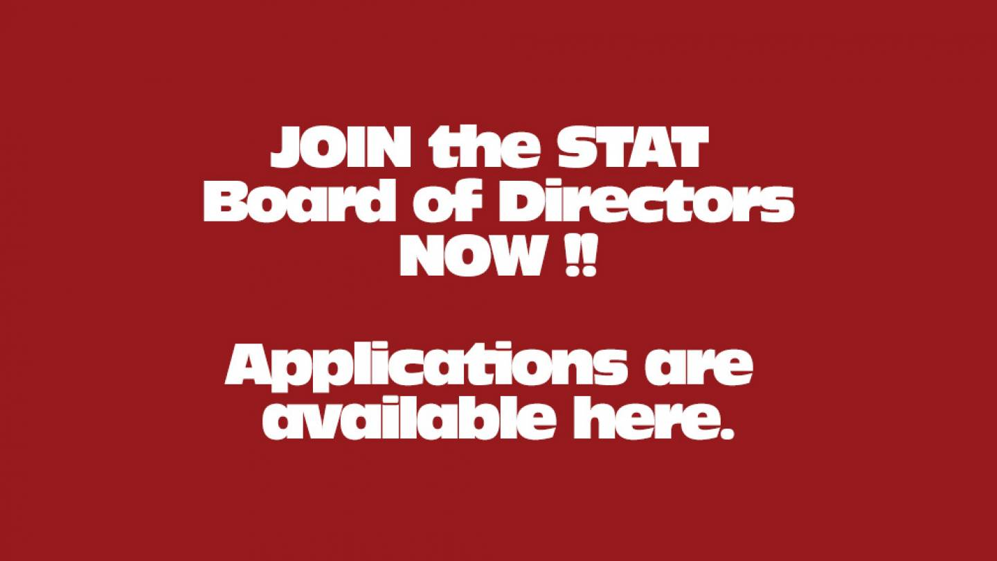 Join the STAT Board of Directors