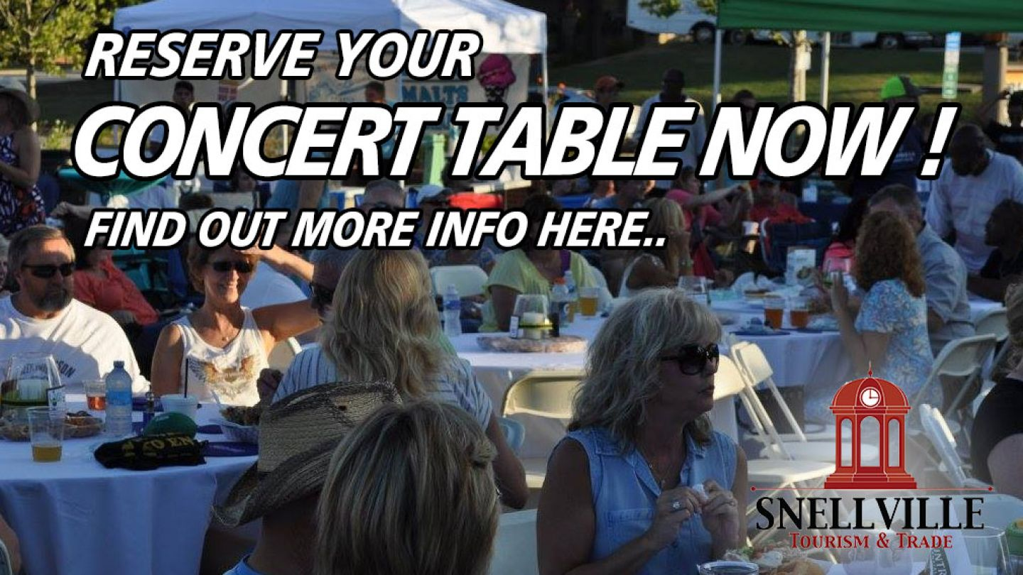 Concert Series Tables